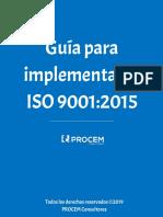 Guia Para Implementar La Iso 90012015