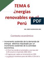 Tema 6 - Energias Renovables en El Peru