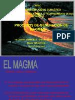 Generación de Magmas