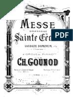 Misa de Santa Cecelia de Gounod