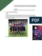 Historia Fc Barcelona