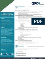 GRC Academy - Brochure Curso Auditoría SAP ERP 2019