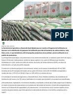 09-05-2019 Inicia Programa de Fertilizante en Guerrero.