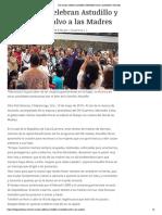 10-05-2019 Con música celebran Astudillo y Mercedes Calvo a las Madres.