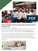 10-05-2019 Héctor Astudillo supervisa avances de reconstrucción por sismo de 19-s.