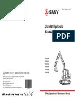 MOperador SY215C Serie HO6898 -Crawler Hydraulic Excavator