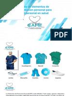 Capacitacion Elementos Proteccion Personal en La Ips