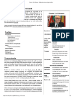 Claude Lévi-Strauss - Vida y Obra