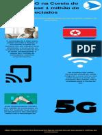 Usuários 5G na Coreia do Sul são quase 1 milhão de conectados