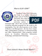 What is SLSU