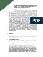 Determinacion de Kilocalorias en Alimentos Solidos Por El Contenido de Lipidos Utilizando El Metodo de Extracción Por Solventes