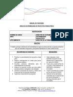 Funciones Area Sostenibilidad 04-2016