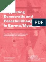 Burma Report 2010-Crisis Management Initiative