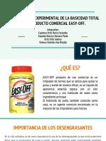 Determinación Experimental de La Basicidad Total en Productos Comerciales.