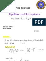 FQ2-2oS2010- Aula revisão-Eletroquímica
