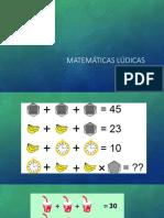 Matemáticas Lúdicas