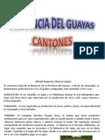 Cantones Prov Guayas
