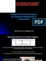 Tratamiento Biotecnológico de Residuos Sólidos