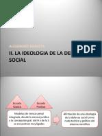 La Ideologia de La Defensa Social