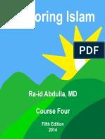 Exploring Islam-Course 4