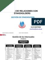 GestionStakeholder - Sesion 2 Gestion de Stakeholder - OnLine (1)