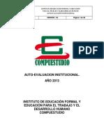 Auto Evaluacioninstitucional2013