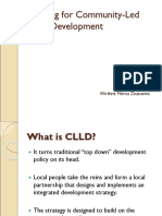 Planning for CLLD