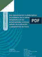 Adherencia Terapeutica Enfermedades Cronicas