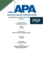 Tarea 4 de Geografia Dominicana.Actitud Center