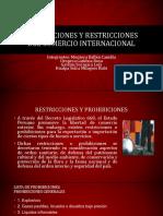 Prohibiciones y Restricciones Del Comercio Internacional (1)