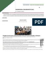 Projeto de Lei Para Concurso Rio Preto-SP Será Enviado à Câmara - Folha Dirigida