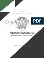 Codigo Eleitoral Anotado e Legislacao Complementar 11 Edicao Suplemento