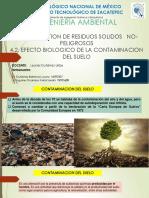 4.2 Efectos Biologicos de La Contaminacion Del Suelo