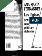 Las Lógicas Sexuales Amor, Políiica y Violencias(1)