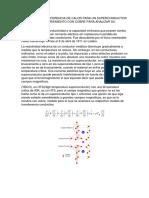 Modelo de Transferencia de Calor Para Un Superconductor de Tipo II y Recubriemiento Con Cobre Para Analizar Su Estabilidad