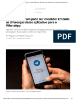 Tecnologia - Como o Telegram Pode Ser Invadido