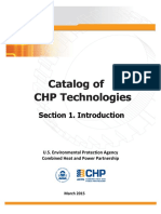 Catalog of Chp Technologies Section 1. Introduction