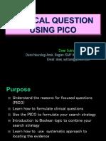 PICO Principle Residen 2019