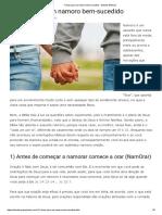 7 Dicas Para Um Namoro Bem-sucedido - Estudos Bíblicos