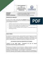 GUÍA DE APRENDIZAJE 1 PLAN DE NEGOCIOS EN EL SECTOR FARMACÉUTICO 2019-17