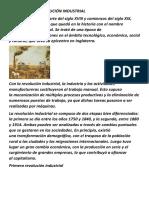 Definición Derevolución Industrial
