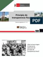 3. Principio Transparencia Fiscal