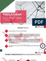 Pengaturan Student Visa Ri Rev2