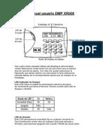 Manual Usuario DMP XR500..