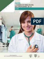 Guía de Orientación Para Rendir El Examen de Habilitación Para El Ejercicio Profesional de La Carrera de Medicina
