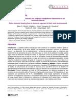 hipoacusia sensorioneural laboral