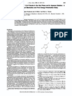 Tautomerism of 1,2,3- And 1,2,4-Triazole in the Gas Phase and in Aqueous Solution - JPC 1990
