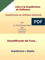 Estilos arquitectonicos de software