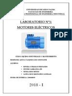 Lab 01 - Motor Electrico