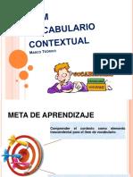 PPT Vocabulario  Contextual.pptx